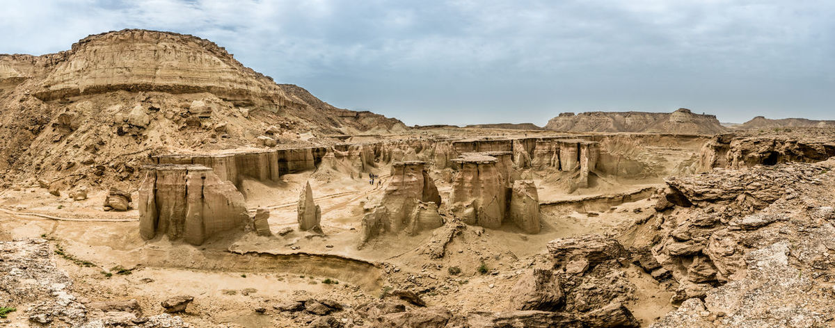 Star Valley, Qeshm Island, Iran Arid Climate Barren Beauty In Nature Cloudy Eroded Geology Landscape Mountain Nature Non-urban Scene Outdoors Physical Geography Qeshm Island Remote Rock Rock - Object Rock Formation Scenics Star Vally