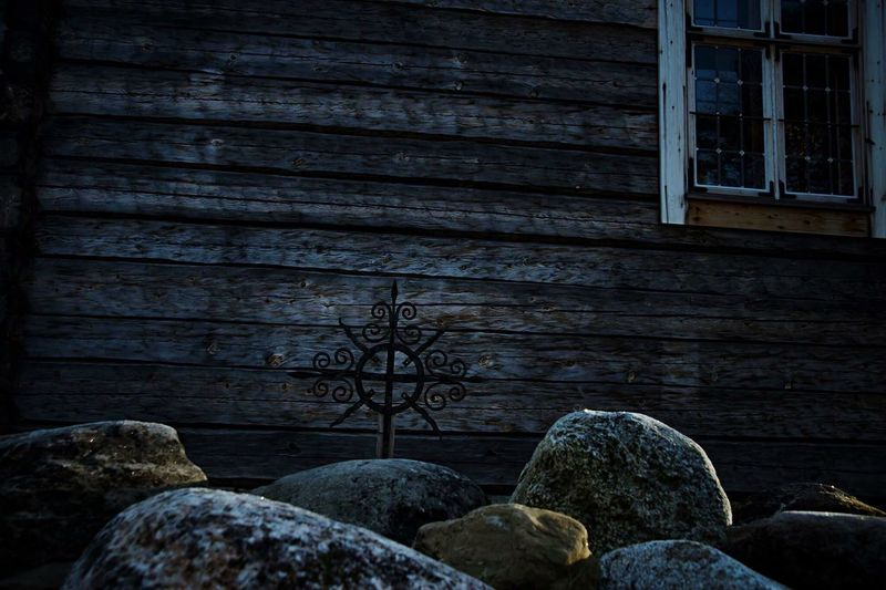 Jämtland. Architecture Built Structure Building Exterior No People Wood - Material Outdoors Day Close-up