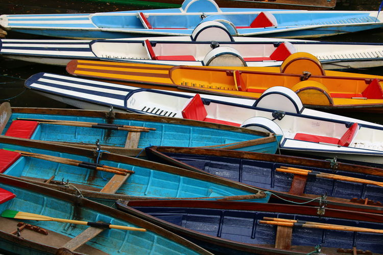 Boats On River Boats Boats Boats Full Frame Multi Colored Outdoors Pattern Photography Chaos Chaos And Order 3XSPUnity Urban Photography Urban Exploration Close-up Large Group Of Objects Mode Of Transport Colours Lines And Shapes Lines And Patterns Rowing Boats Boats On The River Rowboat The Great Outdoors - 2017 EyeEm Awards Water Moored Colours And Patterns Boats And Water