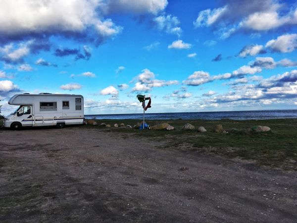 Baltic Sea Caravan Trailer Storm Cloud - Sky Storm Cloud Clouds Clouds And Sky Vacation Holiday Windy EyeEmNewHere