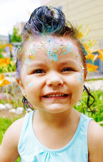 Smile. Summer Color Colorful Hair Photography Outdoor Photography Simplycool Kids Kidhair