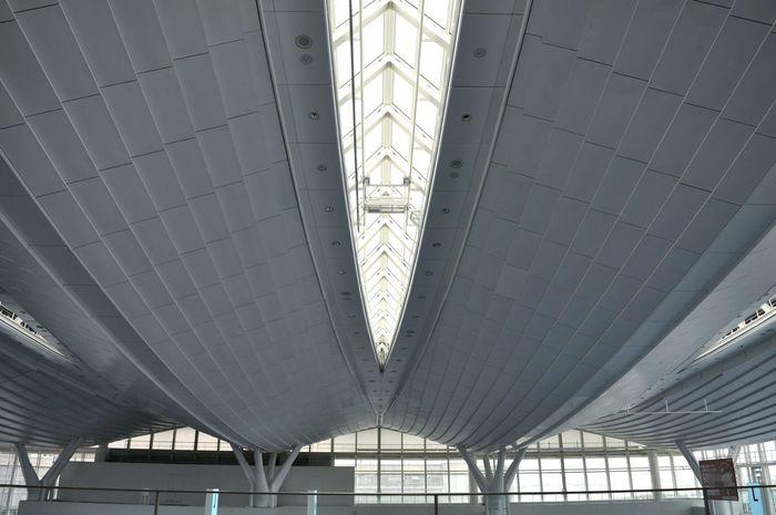 Just hanging around.:) White Architecture Airport