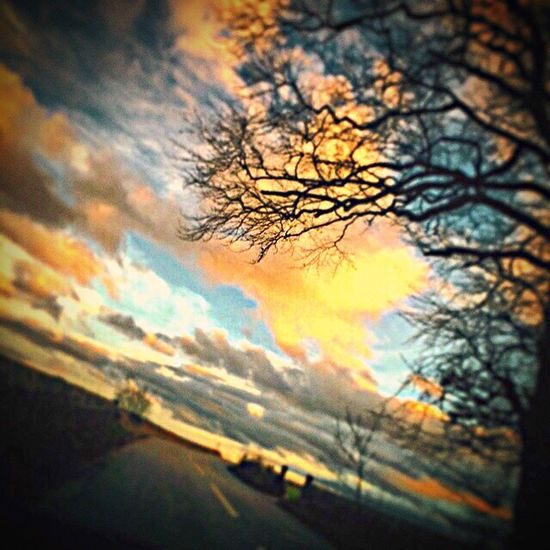 Beautiful Skies Aberdeenshire Countryside Messedupjournal Kas© Trees Roadtrip Road Sky And Clouds