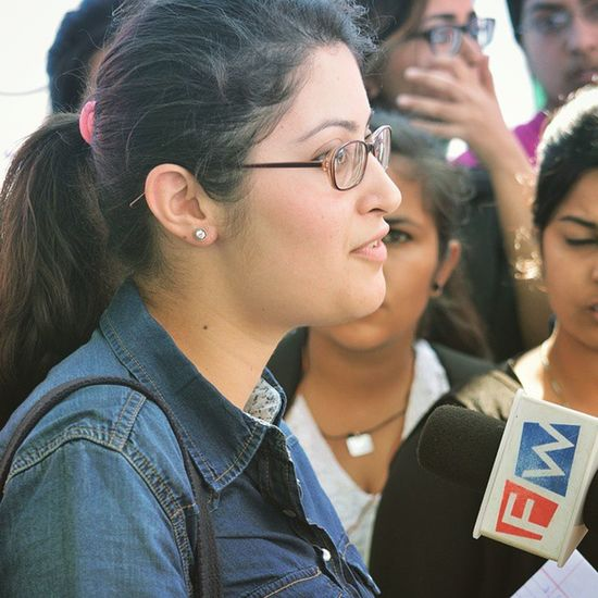 And She Got Famous Kisaanmela Gagans_photography Instaludhiana Fastway News