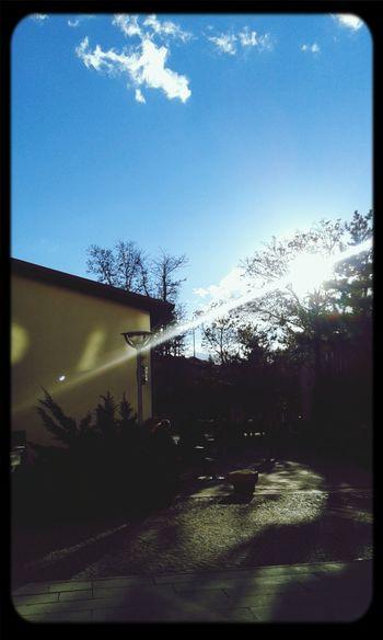 Bu maviliği ve güneşi özlemişim :) Aşkgökyüzünde Could And Sky Sunny☀