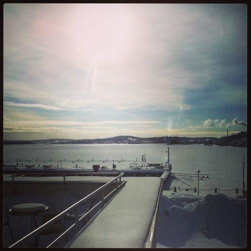 View from the Dpg center in örnsköksvik Sweden