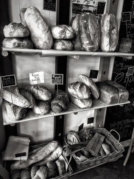 Baked fresh everyday. I can smell the bread Freshly Baked Bread Freshly Baked Breads Fresh Bread Bakery