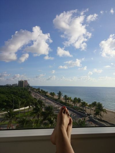 Mr View My View Fort Lauderdale Beach Relaxing Beach Photography Beach Life Beach Diaries Toes Palm Trees Free Spirit Ocean Ocean View Hotel View Vacation I Love My Life People Of The Oceans Love Yourself