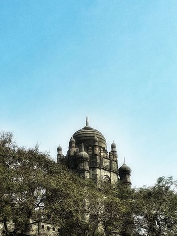 Finding New Frontiers MumbaiDiaries Gpo Dome Clear Sky Architecture Outdoors