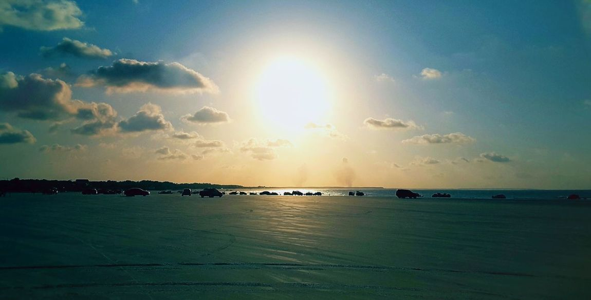 Sea Sun Sunset Tranquility Water Scenics Nature