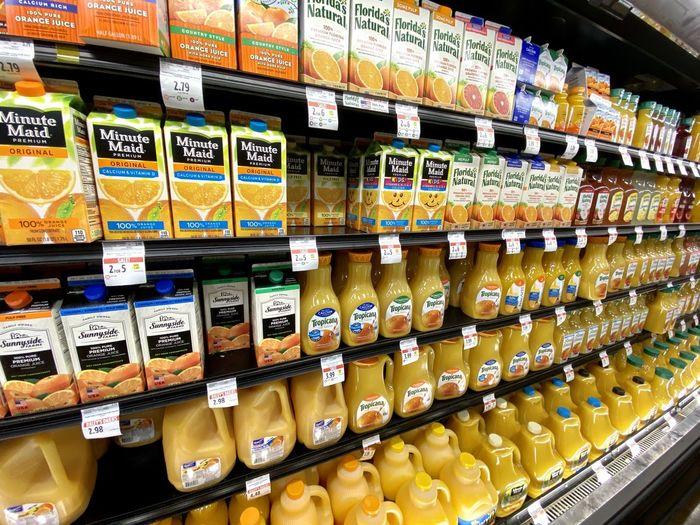 Shelves full of
