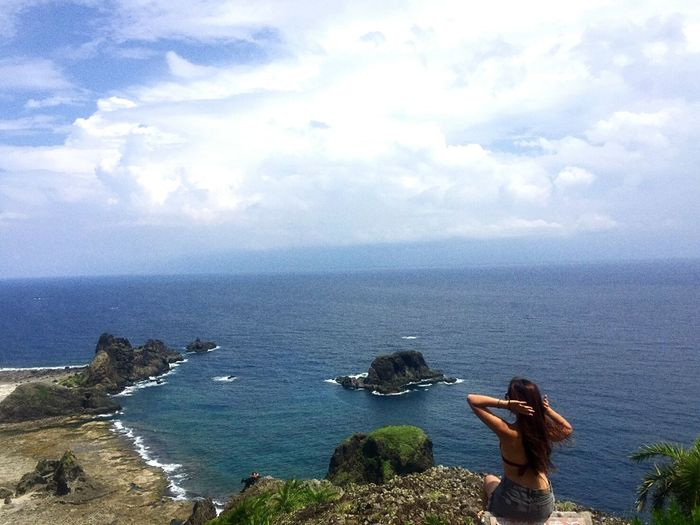Sea Only Women People Adult Beach Adults Only Women Two People Cloud - Sky Outdoors Water Day Vacations Horizon Over Water Nature Sky Beauty Young Women Human Body Part Young Adult Greenisland Taiwan Taiwan Photographer