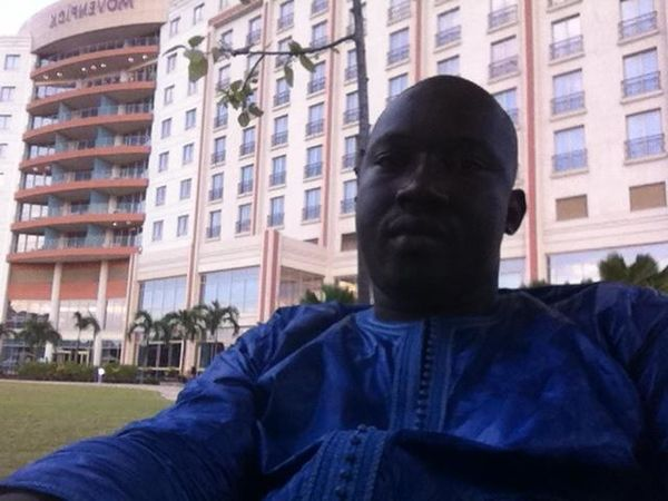 Checking in at Movënpick Ambassador Hotel Accra Checking In