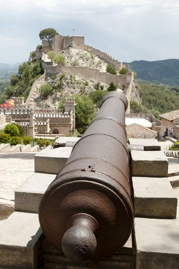 Castle of Xativa Castle SPAIN Cannon España Ruin Xativa