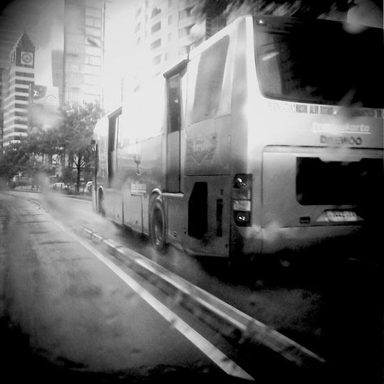 Blackandwhite On The Road