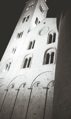 Bari Cattedrale Sansabino Puglia Italy Hello World Portrait