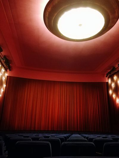 Cinema Kino Watching A Movie Movie Time Film Gucken Indoors  Arts Culture And Entertainment Illuminated Architecture No People Auditorium