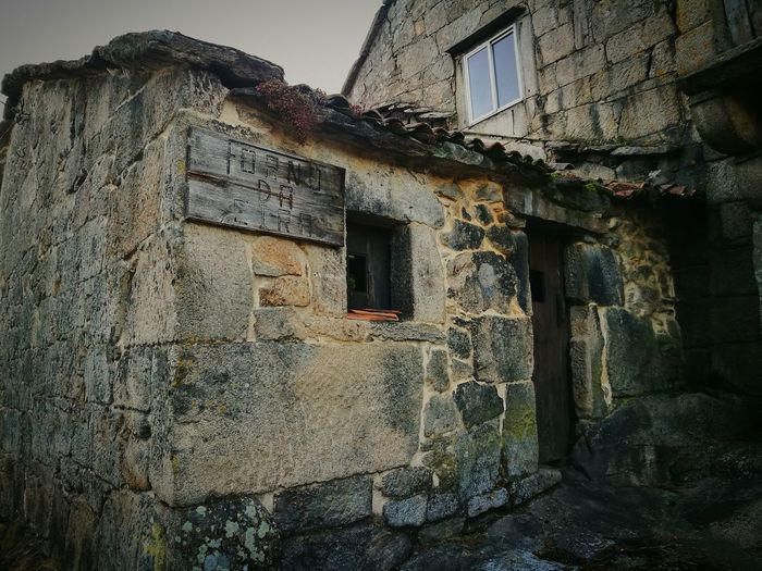 Architecture House Built Structure Building Exterior History Abandoned No People Rural Ruralphotography Horno Cea