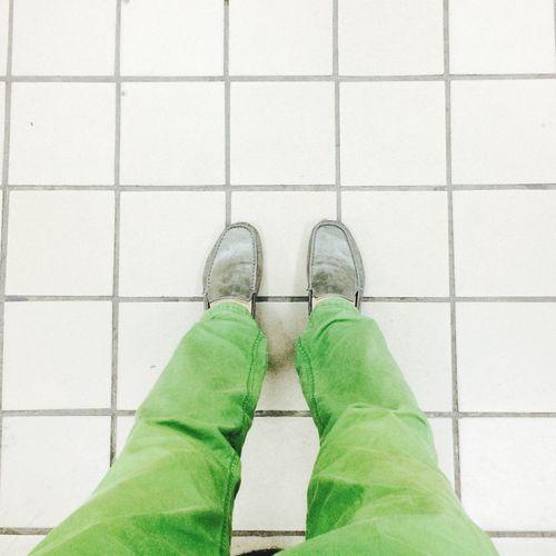 봄이왔으니 나도 봄~봄~봄~~ Spring Check Loafers Shouse Green Square