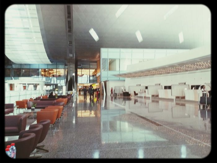 Qatar Airways Business Class Check In CounterHamad International Airport (DOH) Qatar