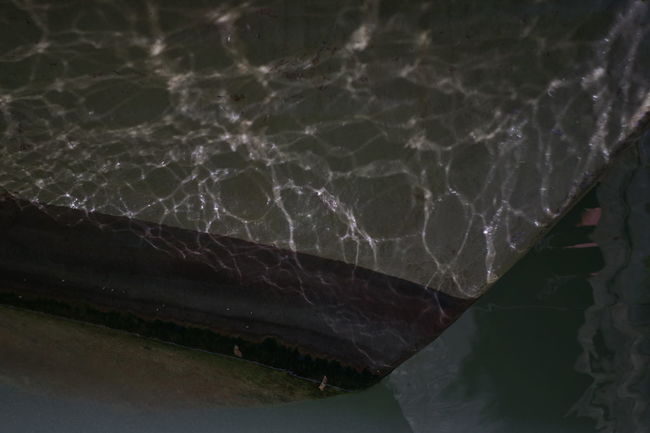 Beauty In Nature Boat Body Part Close-up Lighty Nature No People Outdoors Reflections In The Water Water
