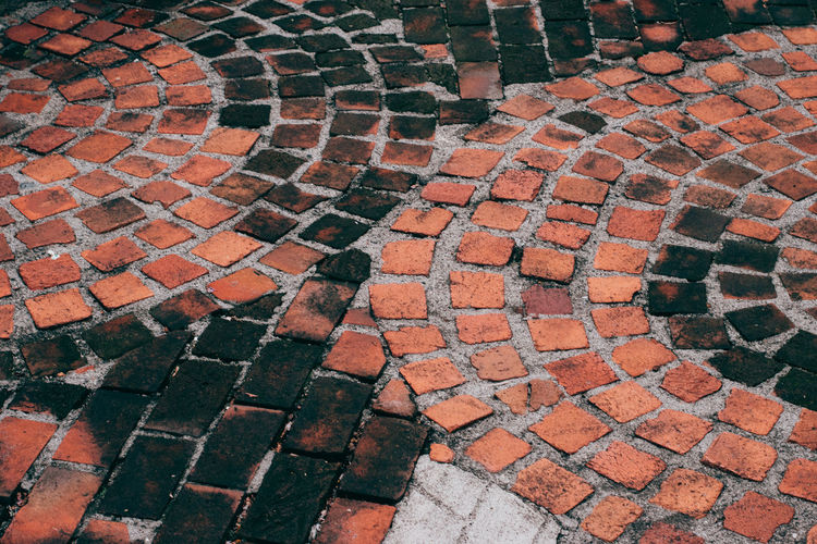Patterns Backgrounds Close-up Day Full Frame High Angle View No People Outdoors Pattern Stone Tile Textured  Tiled Floor Beautifully Organized