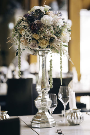 Engagement Fine Flowers Lovely Noble Noblesse Party Plants And Flowers Precious Table Wedding