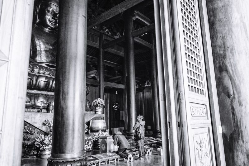 The Street Photographer - 2017 EyeEm Awards Place Of Worship Architecture Built Structure Real People Shanghai China Religion Spirituality Buddhism Temple