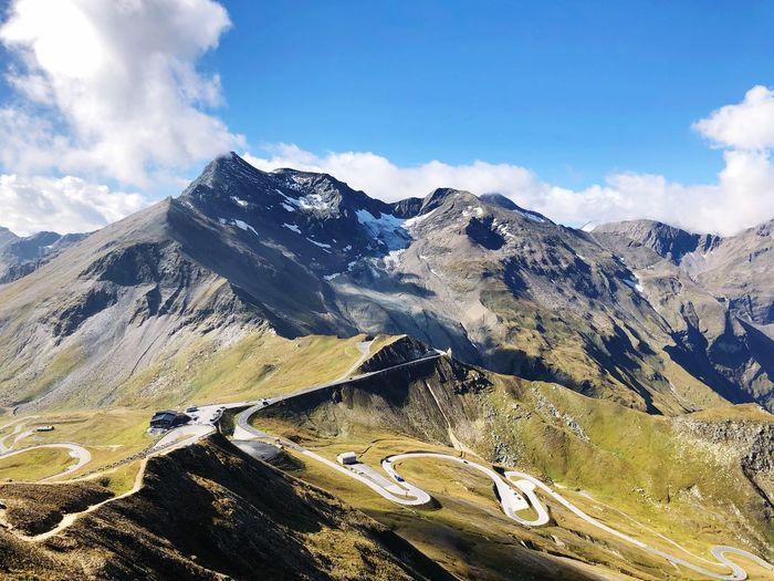 Großglockner - Austria Austria ❤ Austrian Alps Mountain Sky Scenics - Nature Cloud - Sky Mountain Range Beauty In Nature Nature Landscape No People Idyllic