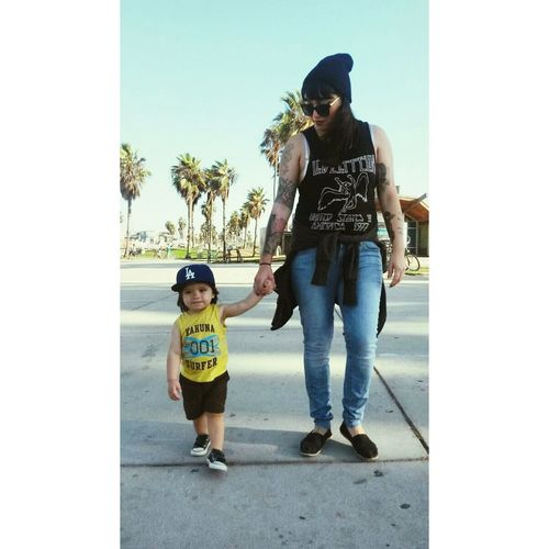 My little dude. Mommy And Son Venice Beach CALIFORNIA LIVING Girls With Tattoos