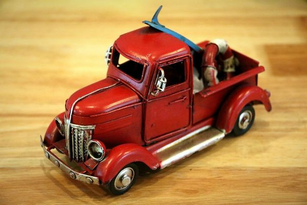 Red No People Old-fashioned Indoors  Indoors  Indoors  Car Car Models... Car Model Cars Toy Toys Red