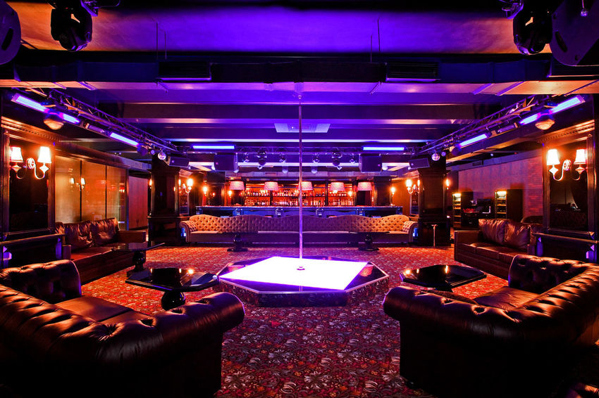 Club Empty Furniture Illuminated Interior Interior Design Interiors Leather Sofa Light Lighting Equipment Lit Multi Colored Neon Neon Color Neon Lights Night Club No People Repetition Sofa