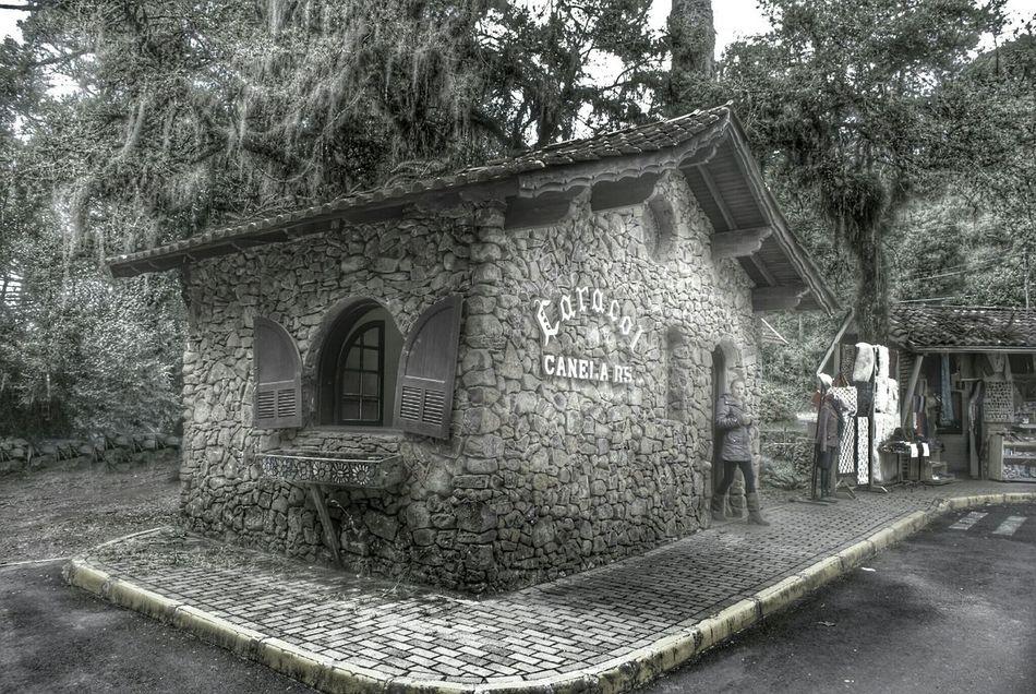 Restored Mountain Hut. Landscapes Of Brasil NEM Architecture Hdr Edit NEM Painterly