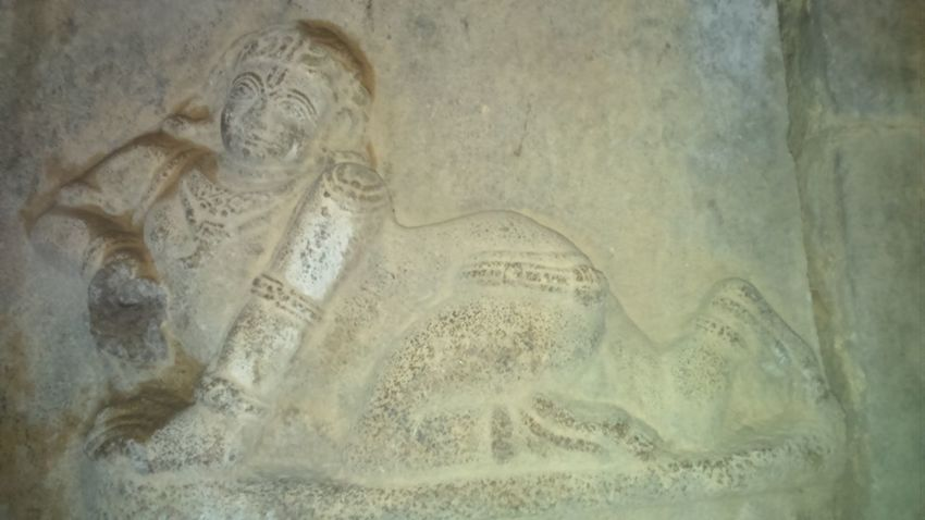 Temple Ruins: Built long ago by King Krishna Dev Rai. Ancient Antique Architecture Belief Close-up Emotion History Human Representation Indoors  Male Likeness Religion Representation Sculpture Solid Spirituality Statue Textured Effect The Past