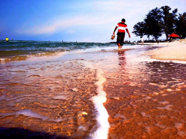 Songkla beach thailand