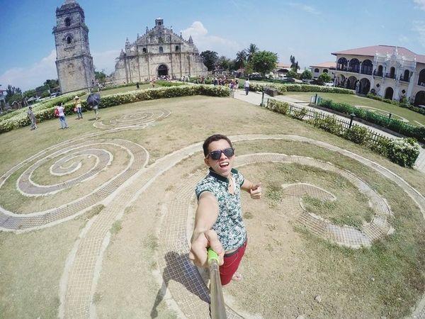 summer escapade Ilocos2015 PaoayChurch Goproph  Gopro