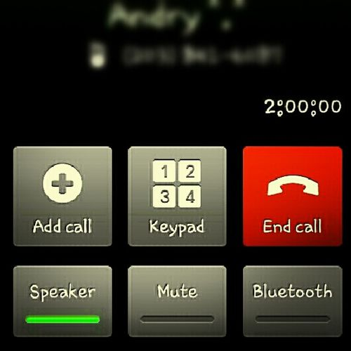 With My Bestfriend On The Phone