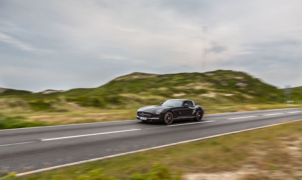 not another benz :) but this one is special, its the last one with gullwing doors AMG Blurred Motion Car Cloud - Sky Day Driving Gullwing Landscape Mercedes-Benz Motor Vehicle No People Outdoors Road Road Scenics Sls Speed