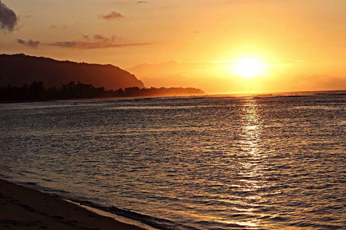 Springbreak2014 Hawaii Vacation Sunset nature is beautiful.