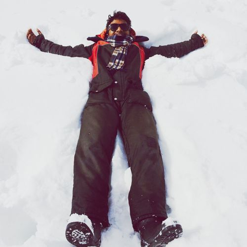 People And Places Snowangel Manali India