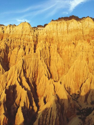 Natural Monument 🏜 Pure Natural Wildlife Sungoesdown Portugal Colors Sunday Orange Cliff Nature Sky Day Mountain No People Beauty In Nature Outdoors EyeEmNewHere