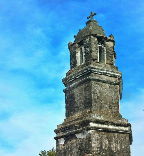 bell tower || Pilipinas History Clouds And Sky Blue Sky