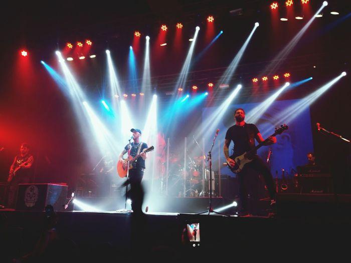 La Beriso Trelew Concert Nightphotography