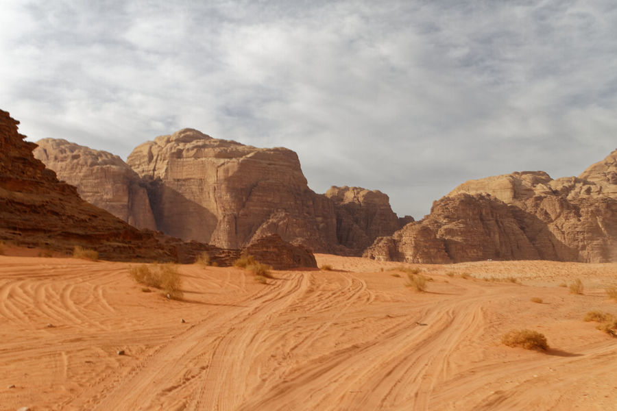 Which way now? Desert Sky Desert Beauty Rock Formation Scenic View Deserts Wadi Rum Jordan Desert Rock Road Sand Road Off Road Track Junction Decision Lost In The Desert EyeEm Selects Desert Sand Landscape Nature Mountain Rock - Object Outdoors Arid Climate No People Day Mountain Range Beauty In Nature Sky Scenics