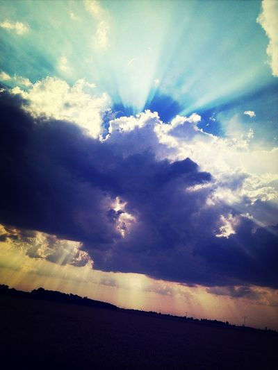 Avant L'orage Clouds And Sky Eye4photography  Nature_collection