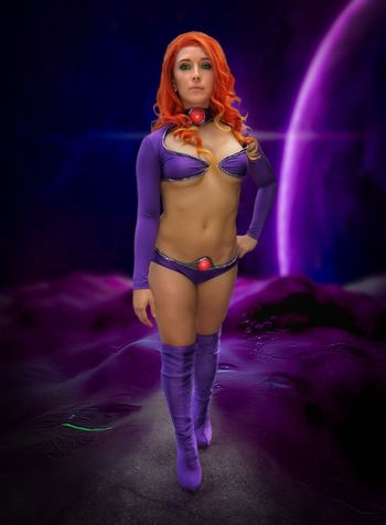 Starfire Cosplayer Cosplaygirl Nycc2017 NYCC Cosplay Starfire Teentitans