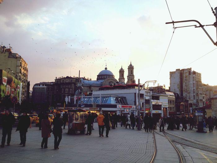 Beautiful Turkey Taksim Istiklal