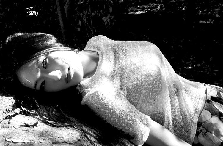 美女 人像 佳能 摄影 The Beauty Canon Black And White Portrait Photography Photography