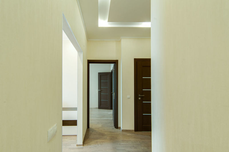 Indoors  Architecture Door Entrance Building Corridor Arcade Home Interior Flooring Built Structure No People Empty Wall - Building Feature Modern Wood - Material Absence Domestic Room Home Mirror Reflection Ceiling Tiled Floor