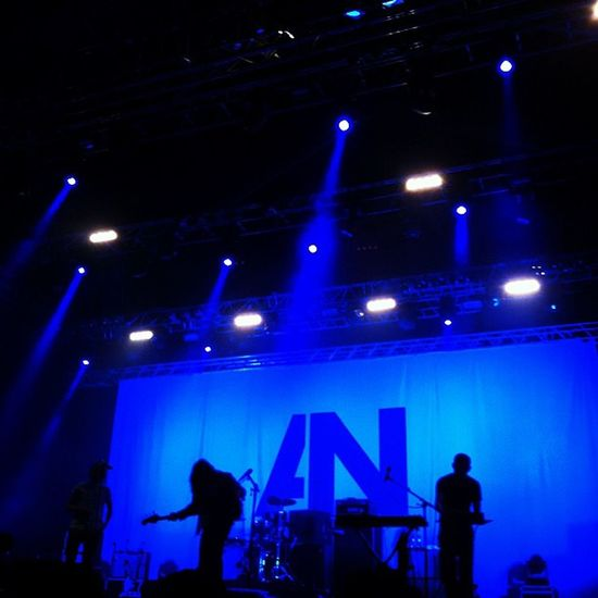 awolnation at #optimusalive Optimusalive Awolnation